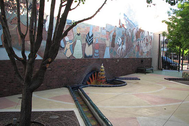 Sun Fountain Murals