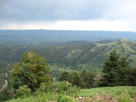 Sierra Blanca Lookout Area Over Ruidoso, NM